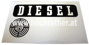 Aufkleber Steyr Diesel links (N72013Li) Umlauf