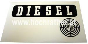 Aufkleber Steyr Diesel rechts (N72013Re) Umlauf