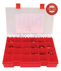 Sortiment Kupferringe (Cu7001) Kramp