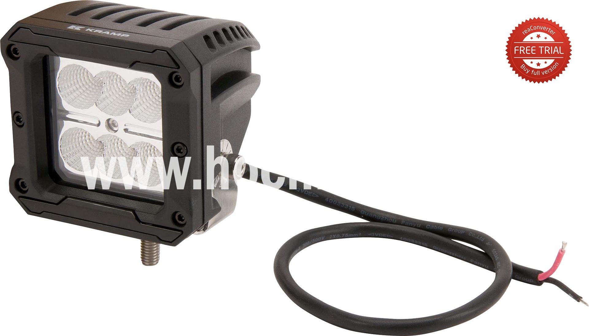 Led-Arbeitsscheinwerfer 18W 16 (La10092)  Kramp