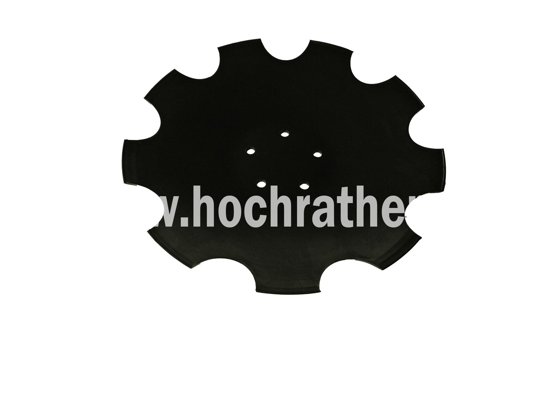 Sechscheibe Gezackt 5-Loch (28071304)  Horsch