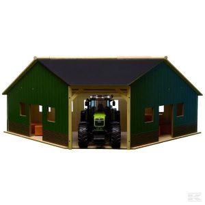Eckgerätehalle Holz (610339) Kramp