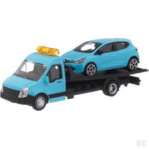 Renault Clio mit Transporter ( (Bb1831401) Kramp