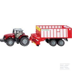 Mf Traktor + Pöttinger Jumbo (S01987)  Kramp
