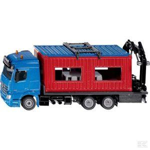 Lkw mit Baucontainer (S03556)  Kramp