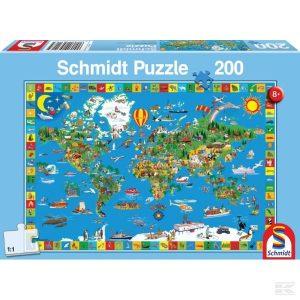 Puzzle Deine Bunte Erde (Sh56118)  Kramp