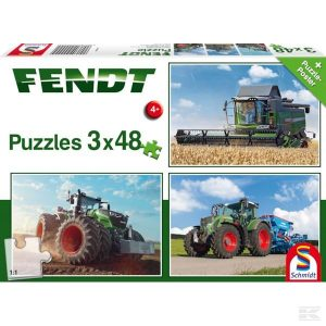 PUZZLE FENDT 3X48 TEILE (SH56221)  Kramp