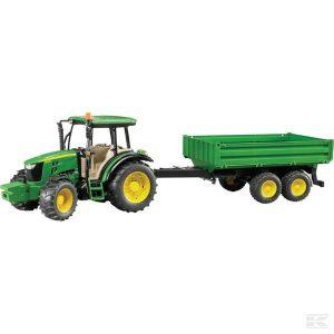 John Deere 5115M mit Anhänger (U02108)  Kramp