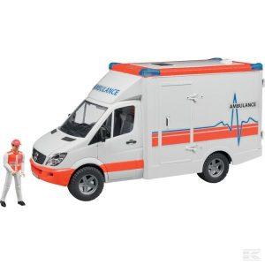 Mb Sprinter Krankenwagen+Fahr. (U02536)  Kramp