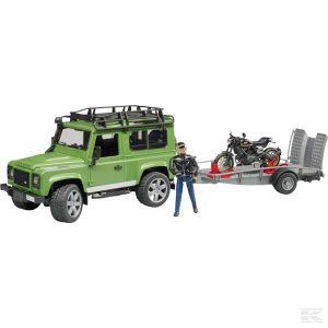Land Rover Trailducati Race (U02598)  Kramp