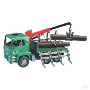 Man Holztransport-Lkw mit Lade (U02769)  Kramp