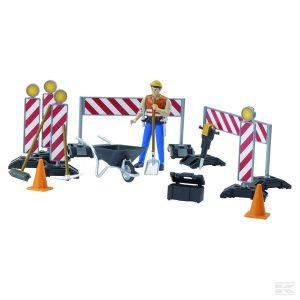Bauarbeiter mit Zubehör (U62000)  Kramp
