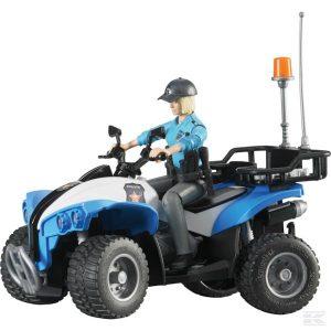 Polizei-Quad mit Polizistin (U63010)  Kramp