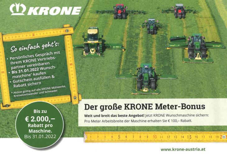 Der Große Krone Meter-Bonus