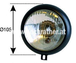 Scheinwerfereinsatz Lindner (100400053) Umlauf