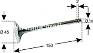 EINLASSVENTIL T188/30/430 (500014001) Umlauf