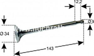 AUSLASSVENTIL STEY 190/288/290 (500014107) Umlauf