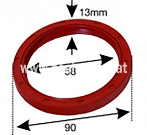 Kurbelwellensimmering St188Vo (500122003) Umlauf