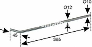 SPIEGELSTANGE T80/T84 (130299001) Umlauf
