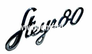 Schriftzug Steyr T80 (130310080) Umlauf
