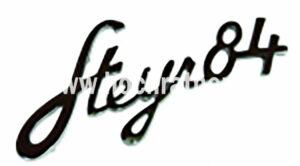 Schriftzug Steyr T84 (130310084) Umlauf