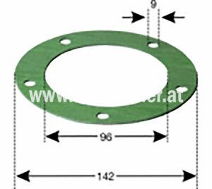 Dichtung Zw Filter U. Tank (135010001) Umlauf