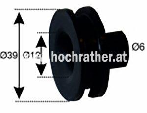 Gummimuffe V. Einspritzleitung (135280076) Umlauf