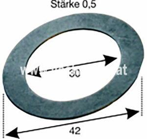 Einstellscheibe Steyr 0,5Mm (500100133) Umlauf