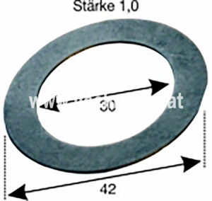 Einstellscheibe Steyr 1Mm (500100134) Umlauf