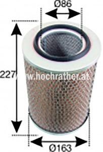 Luft Filter (501100004) Umlauf