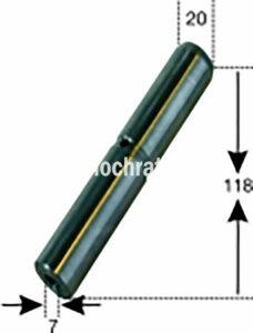 Federbolzen Gef. Vorderachse (522180204) Umlauf