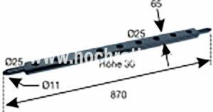 ACKERSCHIENE T80 (522200003) Umlauf