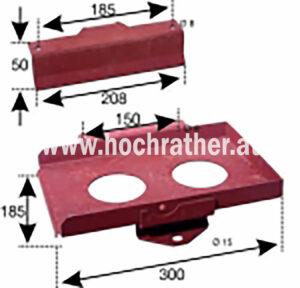 Batteriehalterung 2-Teilig T80 (523100015) Umlauf