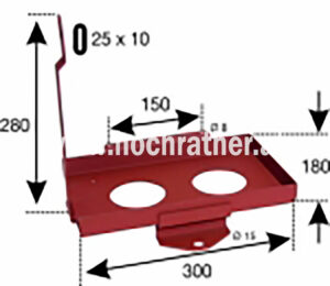 Batteriehalterung T80,T84 (523100016) Umlauf