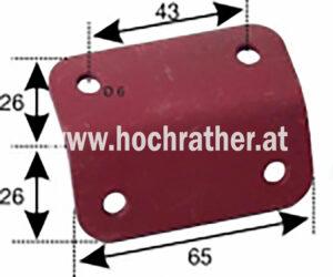 Lampenhalterung T80,T84 (523100025) Umlauf
