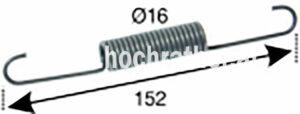 Bremsfeder T80/T180 (524214004) Umlauf