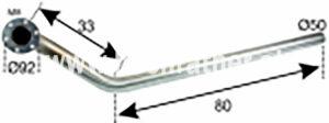 AUSPUFF NIRO STEYR T185,T280 (526200008) Umlauf