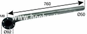 AUSPUFF STEYR T180A NIRO (526200012) Umlauf