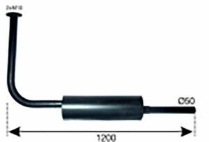 AUSPUFFTOPF STEYR T180 (526200180) Umlauf