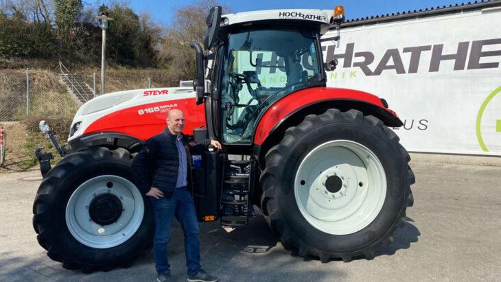 Traktorübergabe An Familie Simader-Marksteiner