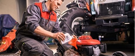 Service-Aktion: Rasenmäher, -traktor
